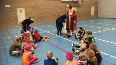 Photo of Sint bezoekt korfbaljeugd Vido