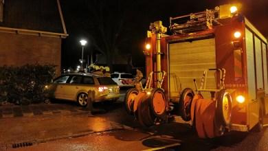 Photo of Bestuurder parkeert auto tegen gevel