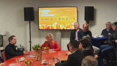 """Photo of Samenwerken aan de promotie van """"Tulpen boven Amsterdam"""""""