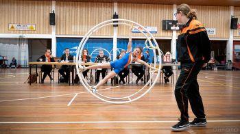 De atleten tonen hun kunsten aan de jury (DHfoto)