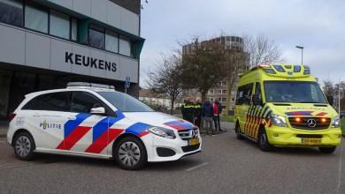 Photo of Scooterrijder komt ten val op het Ravelijncenter