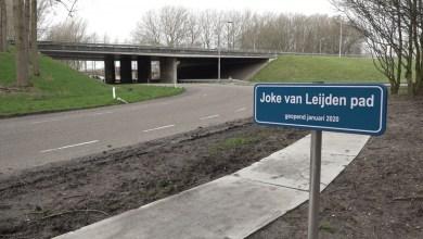 Photo of Joke van Leijdenpad Middenmeer geopend