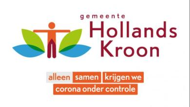 Photo of Hollands Kroon voert tijdelijk 'coronalogo'