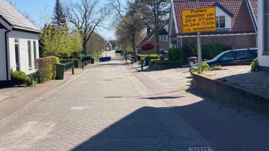 Photo of Poelweg Westerland en Wallerweg in Breezand tijdelijk afgesloten