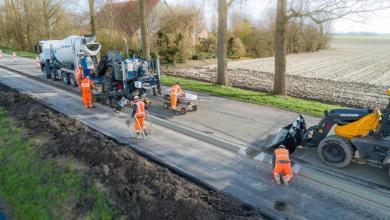 Photo of Oosterterpweg in Wieringerwerf weer open