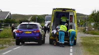Photo of Motorrijder onderuit na aanrijding met fietser