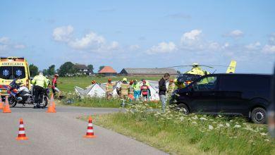Photo of Wielrenner gewond bij aanrijding