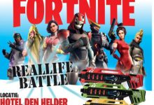 Photo of Fortnite Reallife battle in Hotel Den Helder