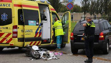 Photo of Scooterrijdster gewond bij ongeval