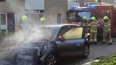 Photo of Auto uitgebrand in Noordzeestraat