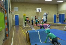 Photo of Jonge pietjes vermaken zich met gym in 't Zand (video)