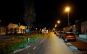 Overal vrijwel volledig lege straten (DHfoto).
