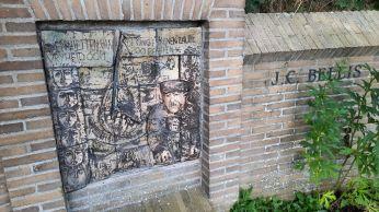Het monument voor verzetsheld J.C. Bellis