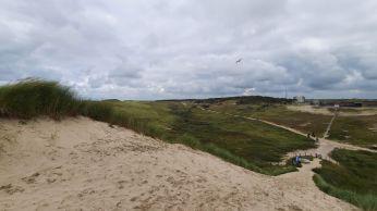 Het ECN in de duinen van Petten