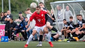 Jong Den Helder Maritiem tegen FC Utrecht O19 (DHfoto).
