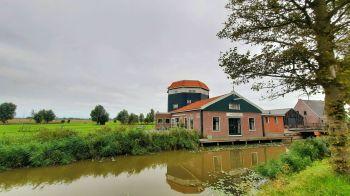 De golfbaan Molenslag dankt haar naam aan de vroegere molen