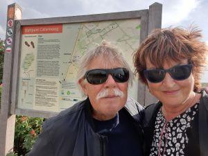 Begin- en eindpunt van de route in Callantsoog