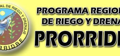 Programa Regional de Riego y Drenaje
