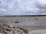 L'estuaire de la Canche à marée basse