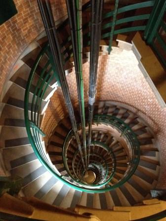L'escalier du phare