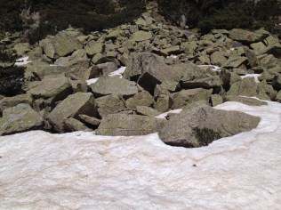 passage rocheux