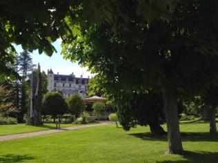 Le château depuis le parc