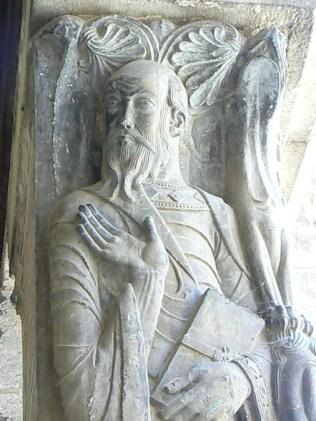 Trumeau : Saint-Paul