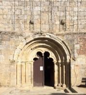 Le tympan de l'église