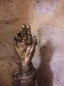 Le bras de Saint-Antoine, reliquaire XVe