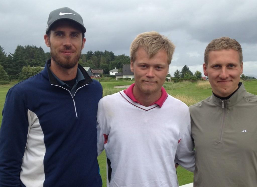Magnus Jepson, Arne Ravndal og Morten Hæraas