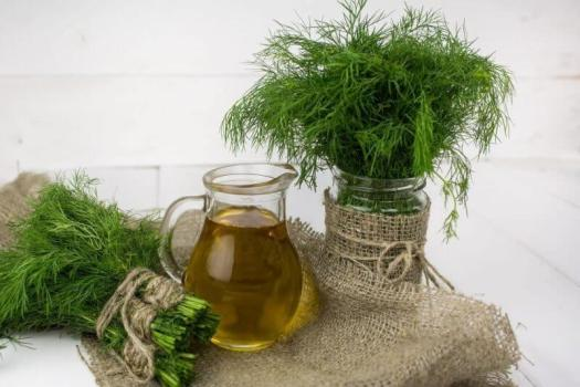 a jug and some natural herbs