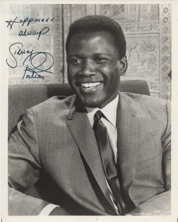 Sir Sidney Poitier | Regis Autographs