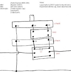 the havanatone a cigar box guitar amp attenuatorhere is an alternative diagram and parts list for [ 1093 x 753 Pixel ]