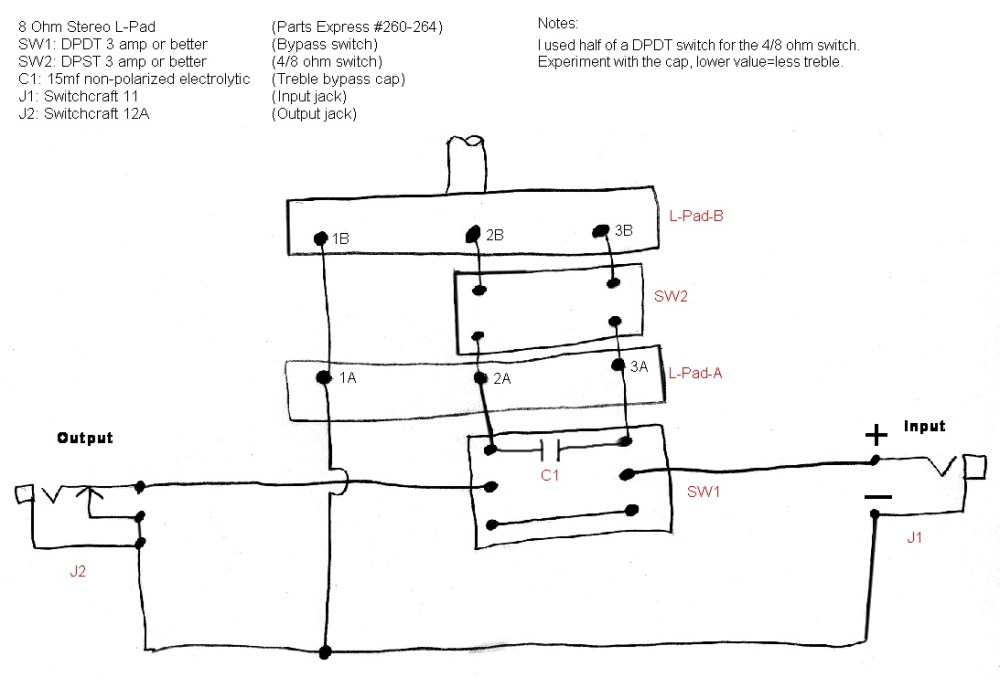 medium resolution of the havanatone a cigar box guitar amp attenuatorhere is an alternative diagram and parts list for