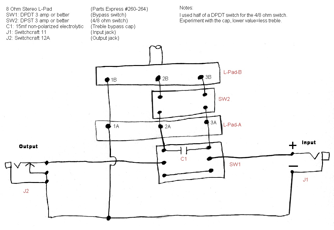 hight resolution of the havanatone a cigar box guitar amp attenuatorhere is an alternative diagram and parts list for