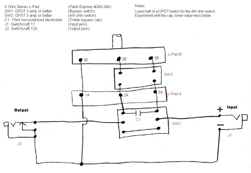 small resolution of the havanatone a cigar box guitar amp attenuatorhere is an alternative diagram and parts list for