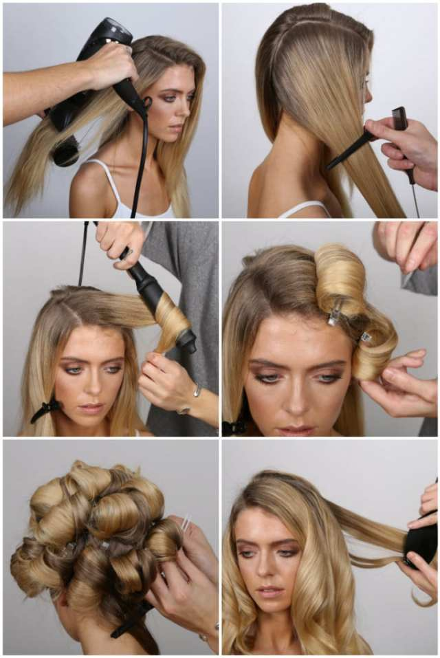 how to create hollywood waves | party hair how-to