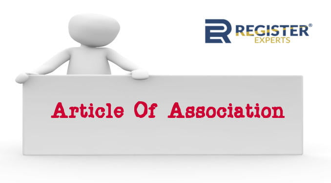 What is Article of Association (AOA) in Company Registration