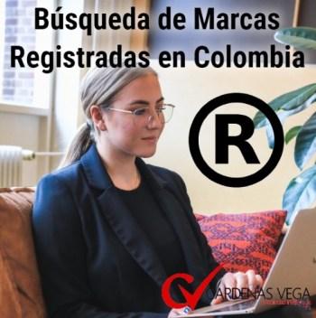 Búsqueda de Marcas Registradas Colombia