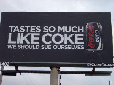 Publicidad de Colca Cola