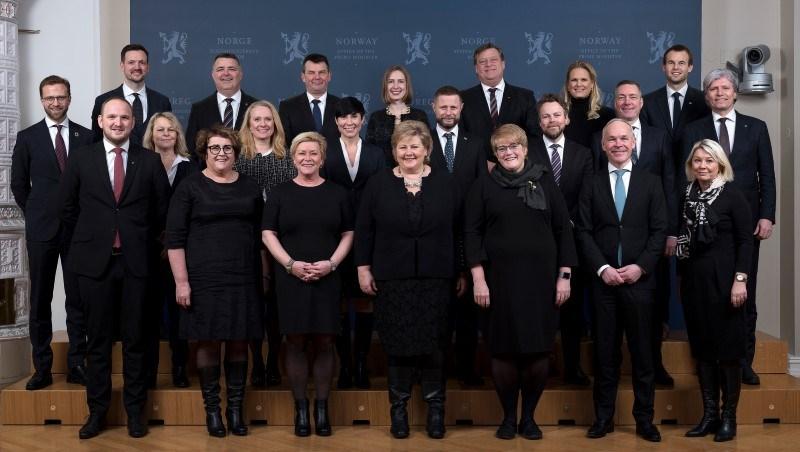 Regjeringen Solberg Regjeringen No