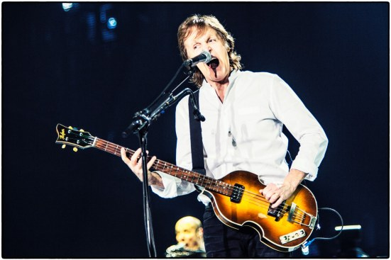 Paul McCartney havde fat i alle aldre på årets festival (Billede fra Paul McCartneys Facebook-side)