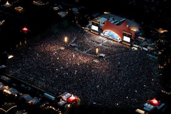 Roskilde Festival Regnsky