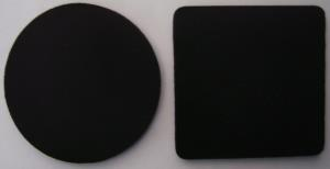 Blank Black Coasters