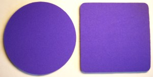 Blank Purple Coasters