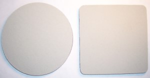 Blank Stone Colored Coasters