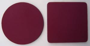 Blank Wine Colored Coasters