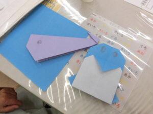 折り紙してみました