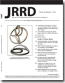 JRRD Table of Contents Volume 50, Number 7, 2013