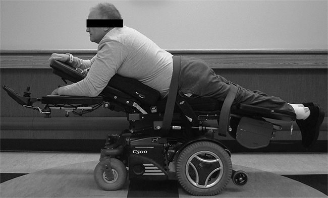 Multidisciplinary approach to converting power chair into